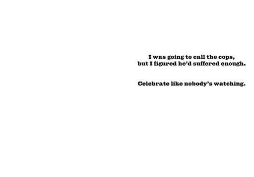 Peeping-Tom Foolery Funny Birthday Card,