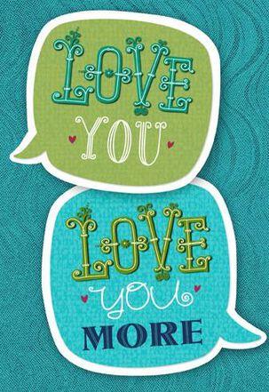 She Said, She Said Love Bubbles Anniversary Card