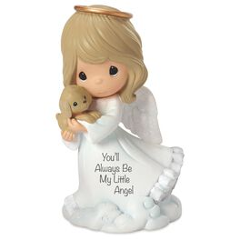 Precious Moments® You'll Always Be My Little Angel Girl and Dog Figurine, , large