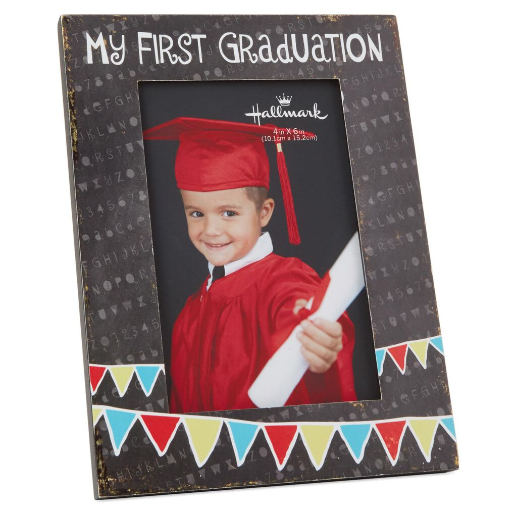 My First Graduation Wood Photo Frame, 4x6 - Picture Frames - Hallmark