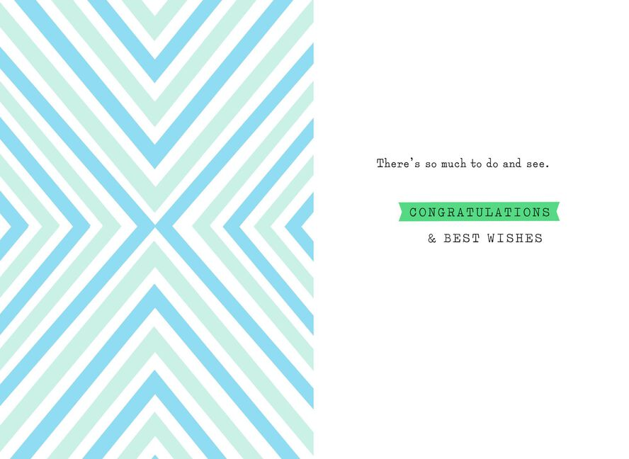 Explore Possibilities College Graduation Card Greeting Cards
