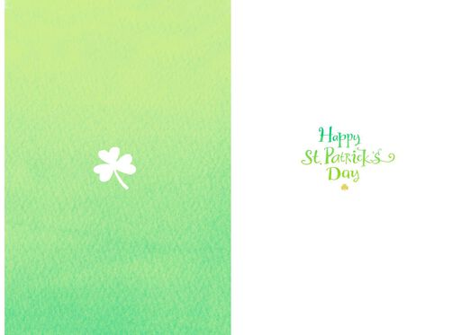 Old Irish Blessing St. Patrick's Day Card,