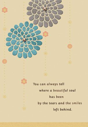Beautiful Soul Sympathy Card