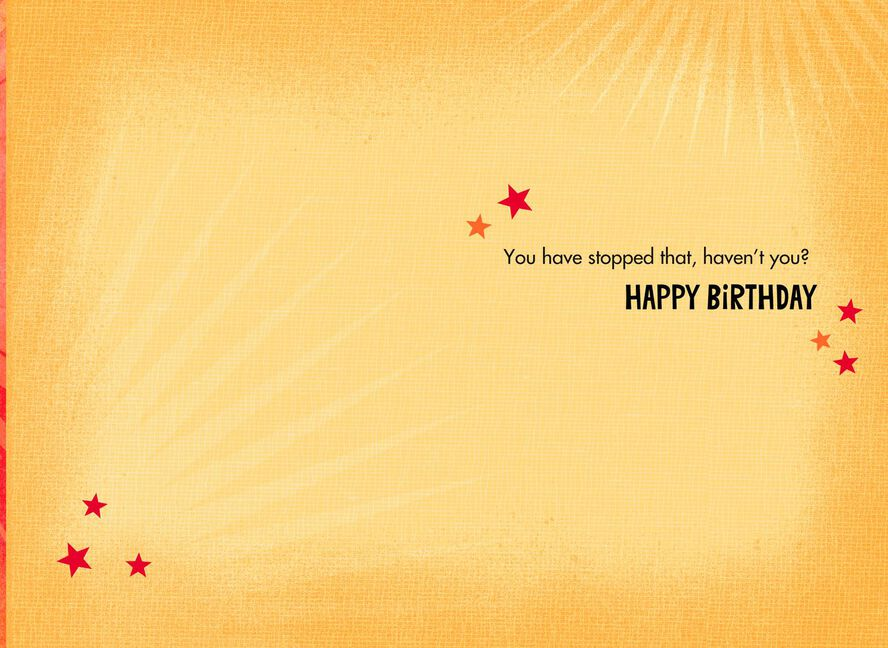 Underwear Superhero Funny Birthday Card For Brother Greeting Cards