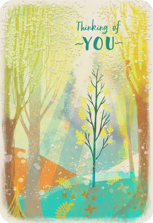 Shining Through Thinking of You Card