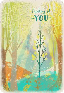 Shining Through Thinking of You Card,