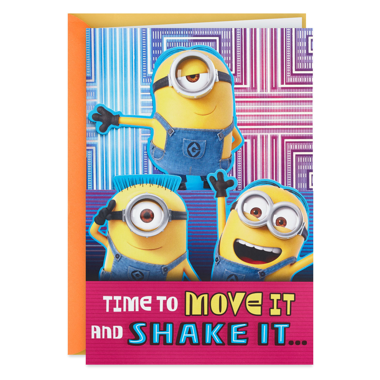 DESPICABLE ME 3 COOLEST SON BIRTHDAY CARD MINIONS NEW GIFT
