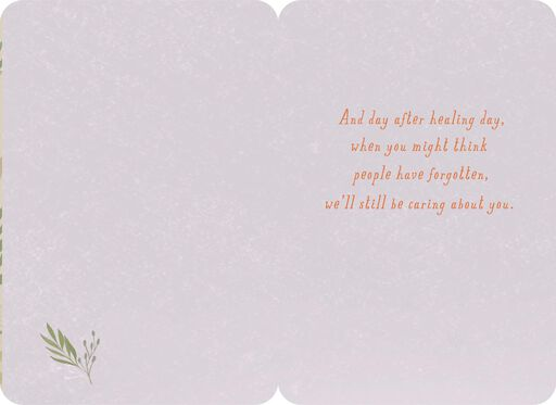 Day After Healing Day Thinking of You Card,