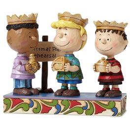 Jim Shore® Peanuts Three Wise Men Figurine, 2nd in Series, , large