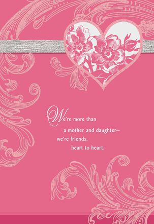 More Than Mother and Daughter Valentine's Day Card