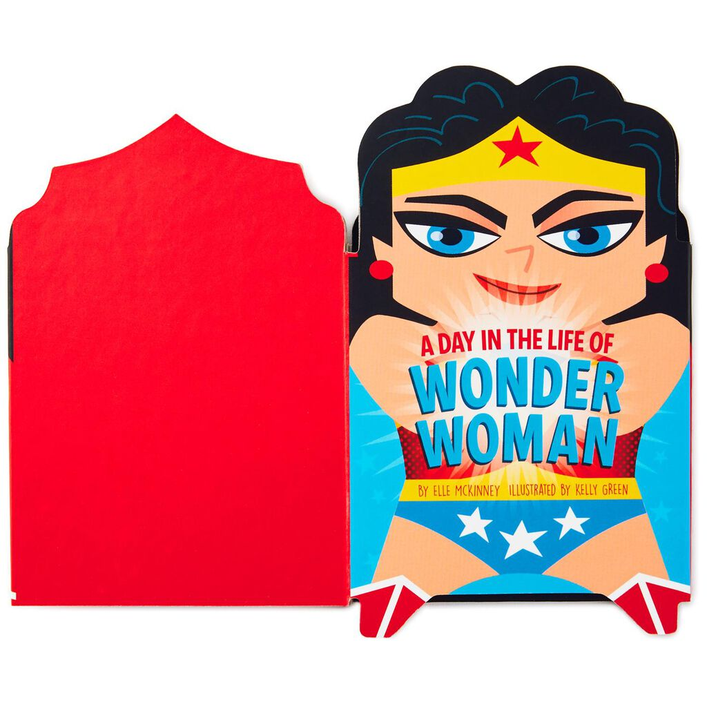 855911d8 DC Comics™ A Day in the Life of Wonder Woman™ Board Book - Kids ...