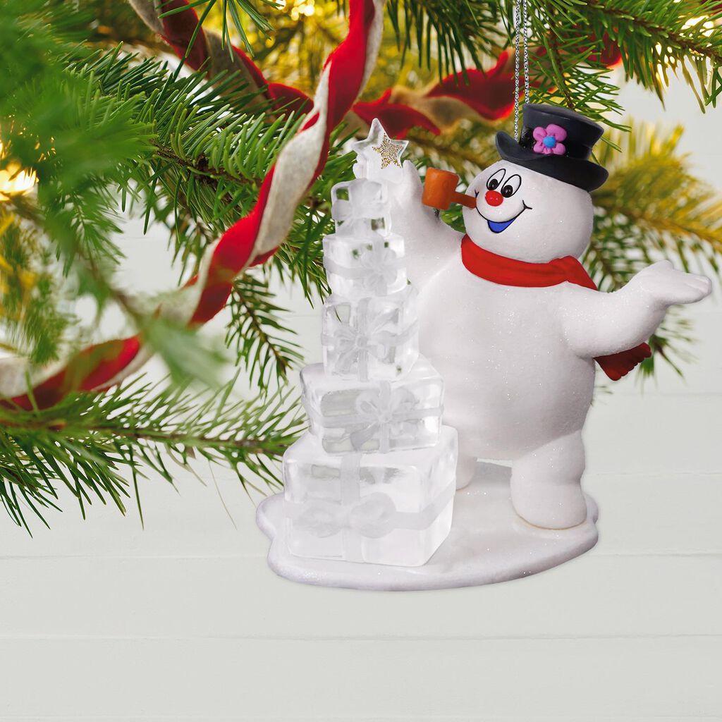 Frosty the Snowman™ A Jolly Happy Holiday Ornament - Keepsake ...
