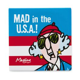 Mad in the U.S.A. Maxine Magnet, , large