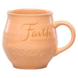 DaySpring Faith Stoneware Mug, 14 oz., , large