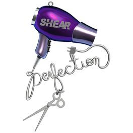 Hairdresser Shear Perfection Ornament, , large