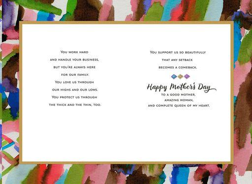 Jill Scott Amazing Woman Romantic Mother's Day Card,