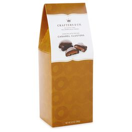 6.5 oz. Milk Chocolate-covered Caramel Nut Clusters in Gift Box, , large