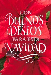 Buenos Deseos en Navidad, Pack of 6,