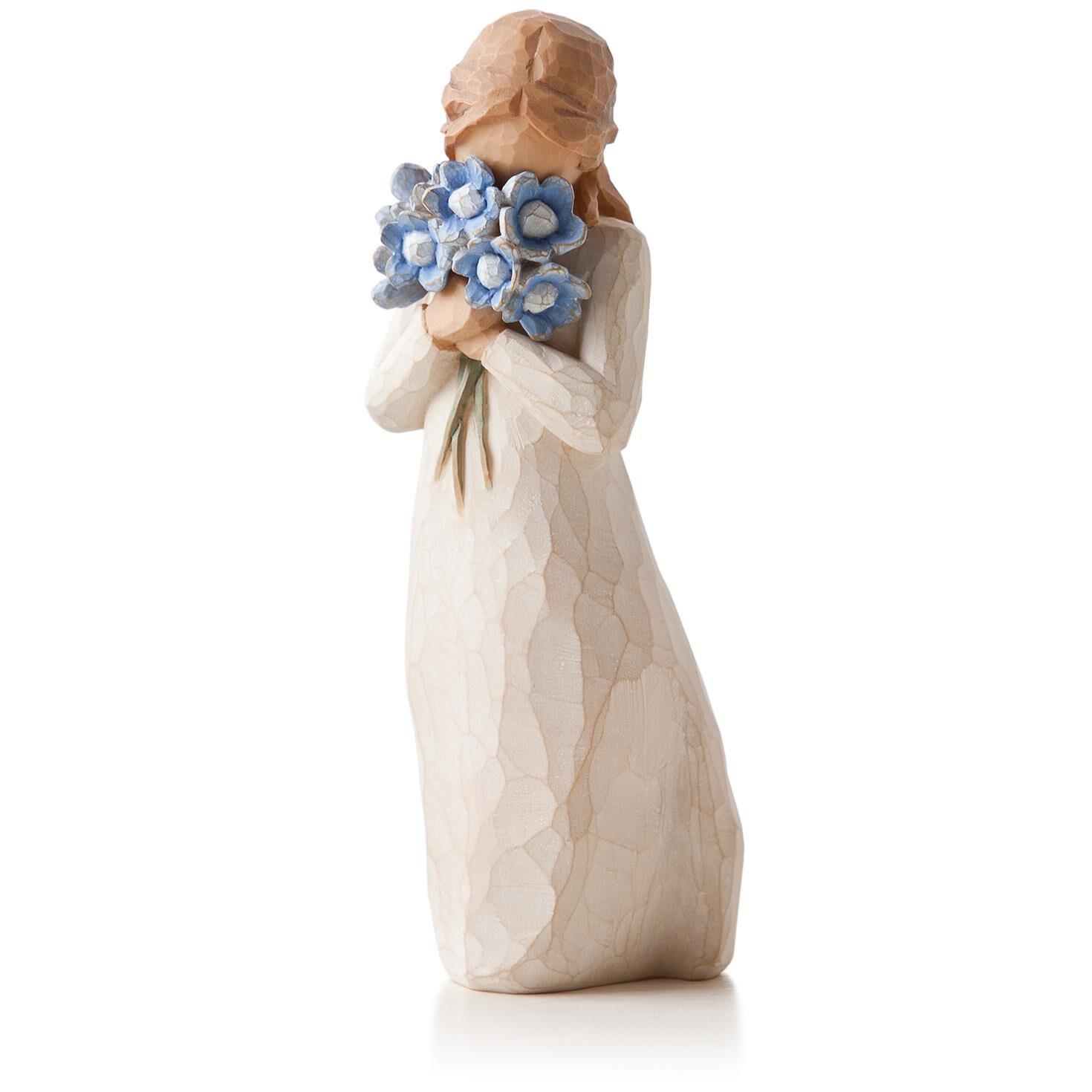 Willow tree forget me not friendship figurine figurines hallmark dhlflorist Gallery