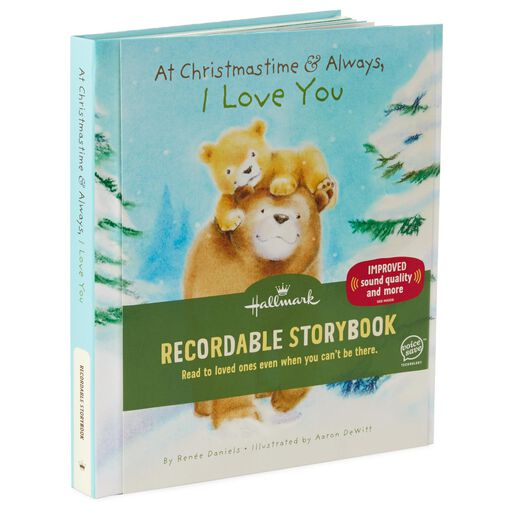 Recordable Christmas Books.At Christmastime And Always I Love You Recordable Storybook