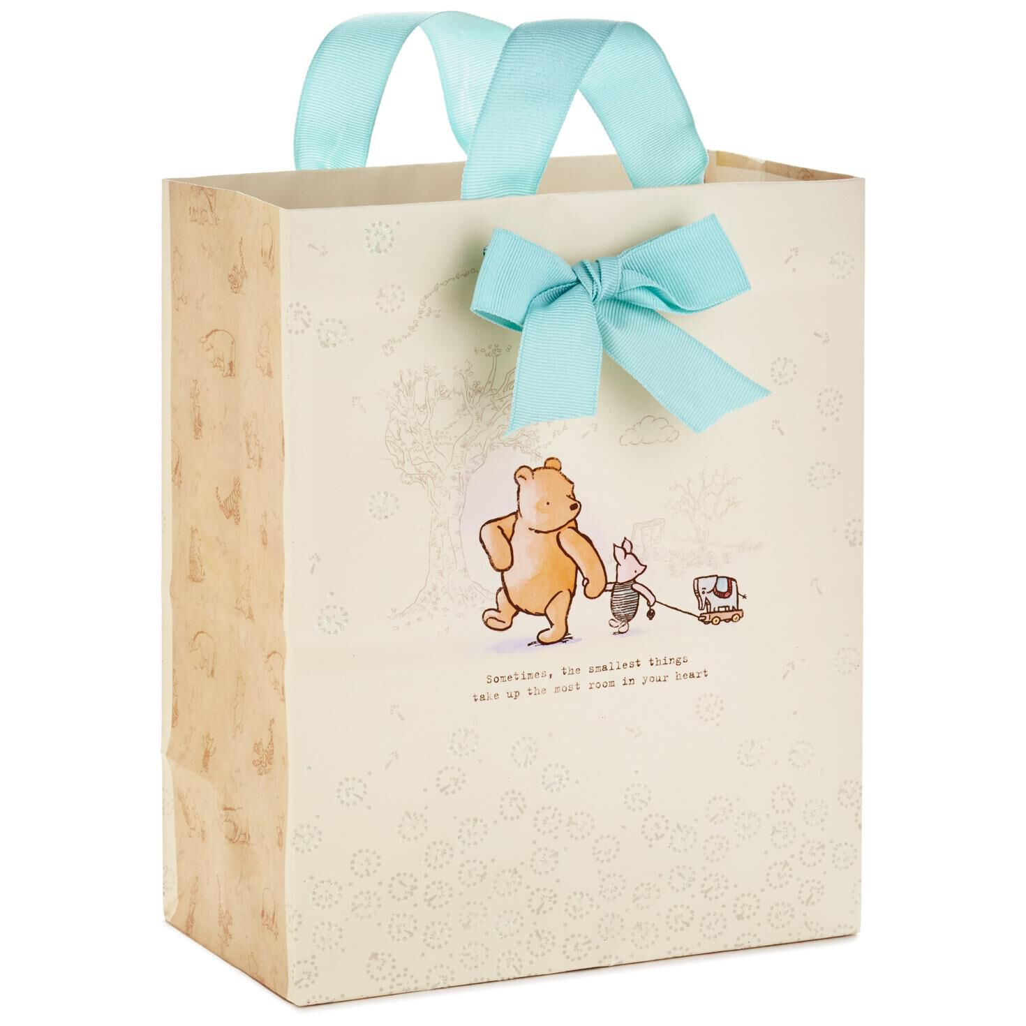 Winnie the Pooh and Piglet Medium Gift Bag, 9.5\