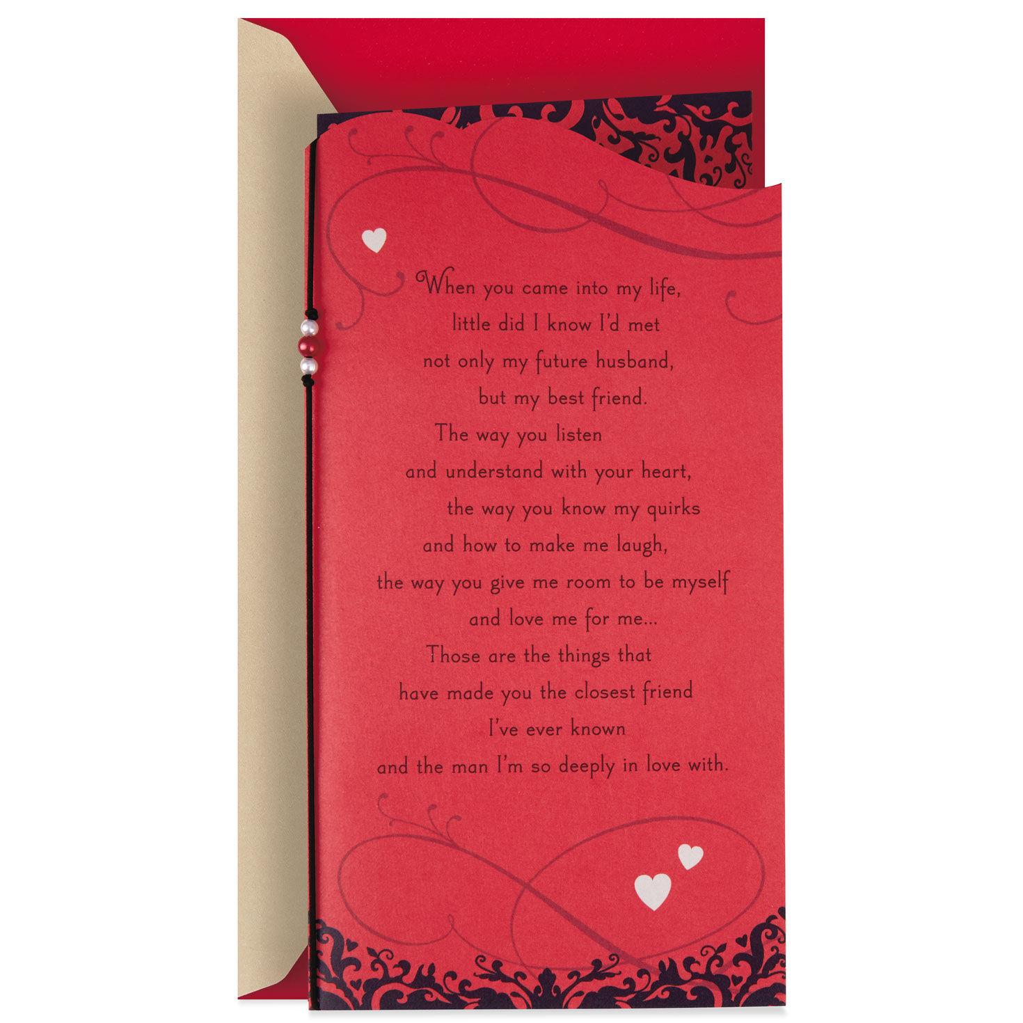 Hallmark Husband Valentine/'s Day Card /'I Love You/' Large