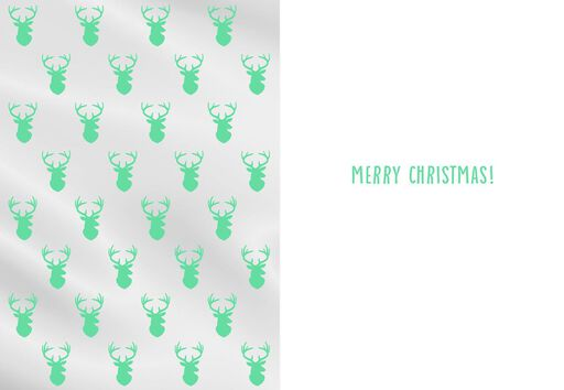 Love You Deerly Christmas Card,