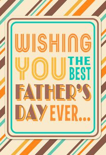 Do Your Thing Musical Father's Day Card,