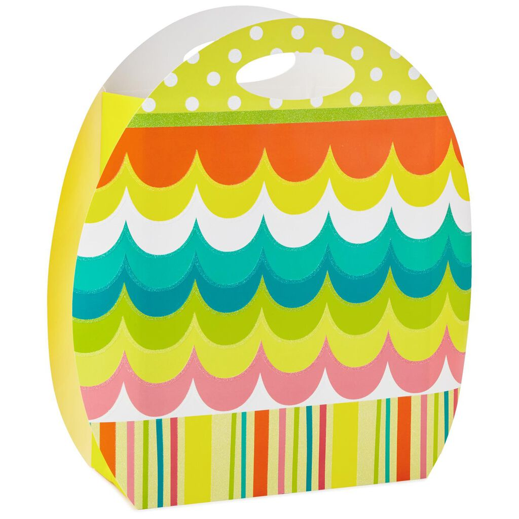 Easter egg shaped x large gift bag 155 gift bags hallmark easter egg shaped x large gift bag negle Images
