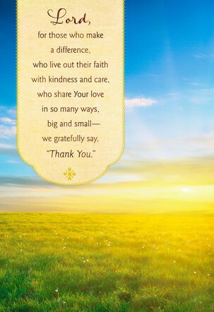 You are a Blessing Religious Clergy Appreciation Card