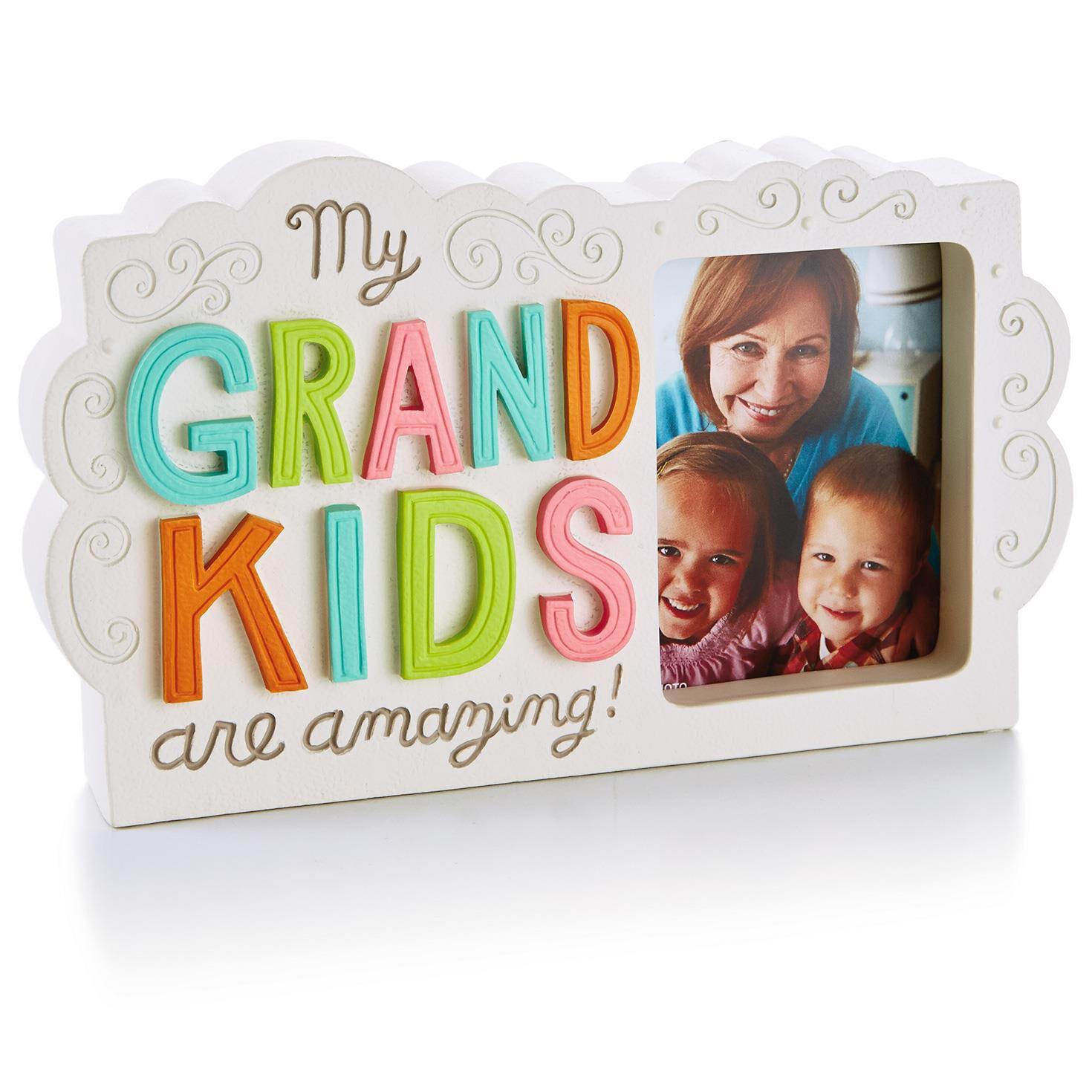 Amazing Grandkids Picture Frame Plaque, 2.5x3 - Picture Frames ...