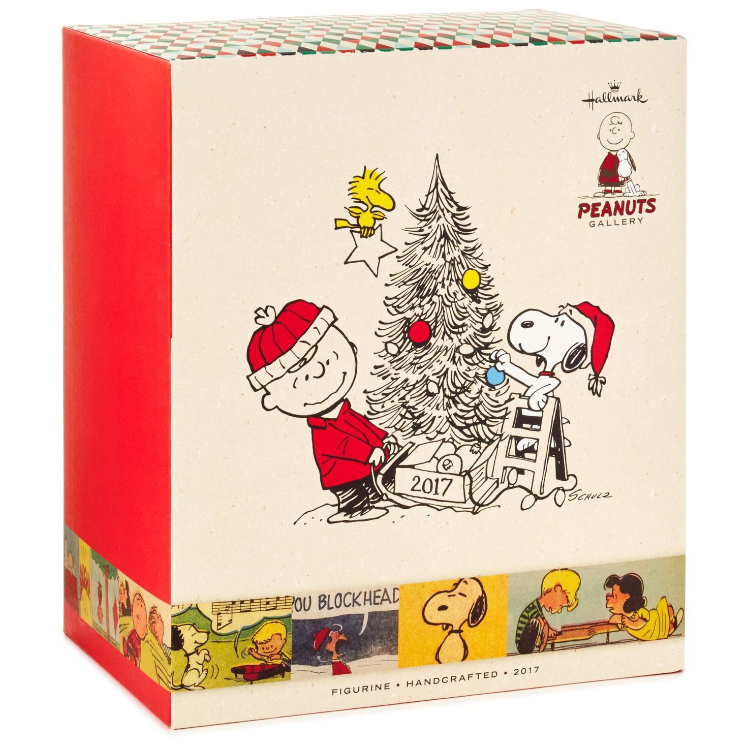 Peanuts® Christmas Tree Decorating 2017 Figurine - Figurines ...