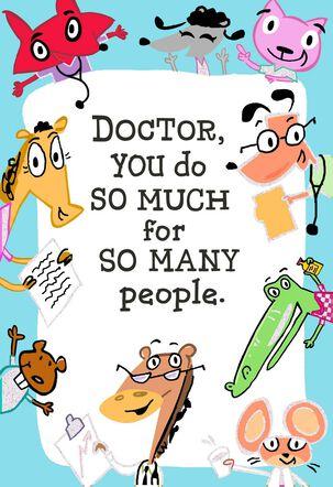 Doctor Appreciation Card