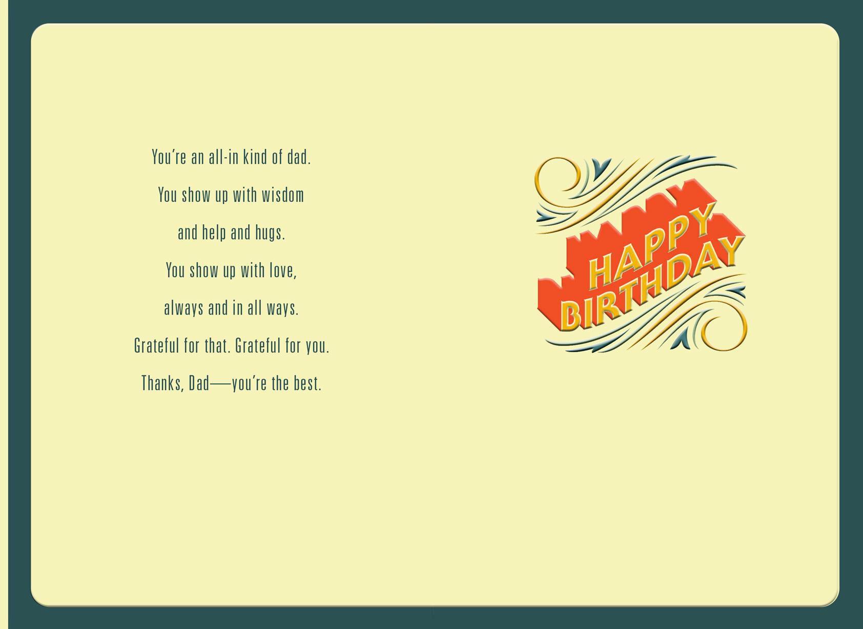postcard birthday - Parfu kaptanband co