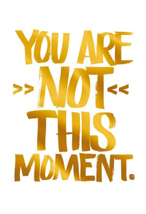 Jill Scott You Are Not This Moment Encouragement Card