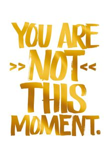 Jill Scott You Are Not This Moment Encouragement Card,