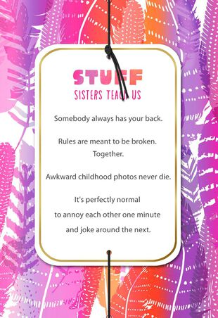 A Friend For Life Birthday Card Sister
