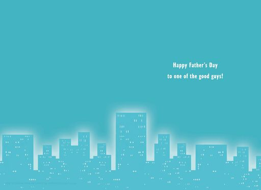 UNICEF Amazing Super Hero Father's Day Card,