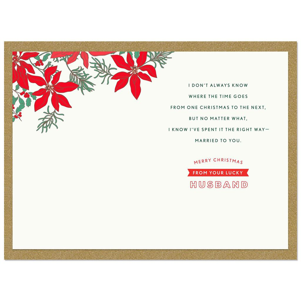 I Will Always Love You Christmas Card from Husband - Greeting Cards ...