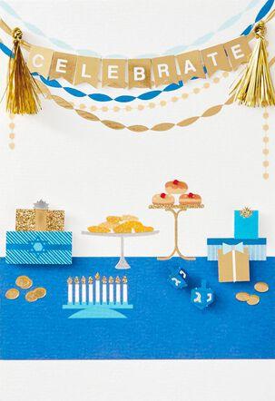 Celebrate Hanukkah Card