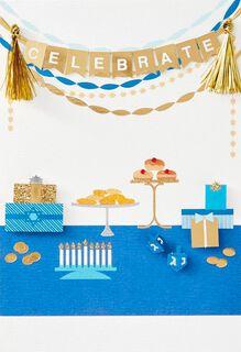 Celebrate Hanukkah Card,