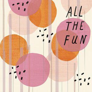 Happy Fun Birthday Card