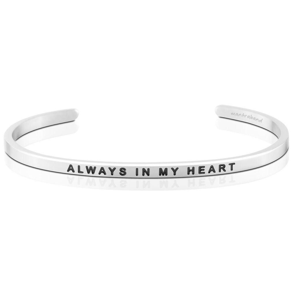 Mantraband Always In My Heart Bangle Bracelet - Jewelry - Hallmark 3f0459aa7