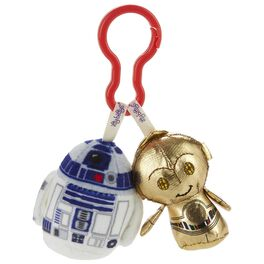 Star Wars™ R2-D2™ and C-3PO™ itty bittys® Clippys Stuffed Animals, , large