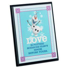 Disney Frozen Olaf Plaque, , large
