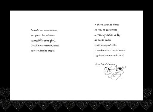 More in Love Spanish Valentine's Day Card,