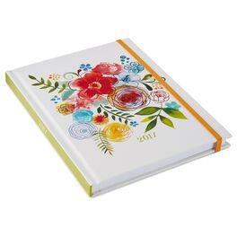 Floral 2017 Weekly Planner, , large