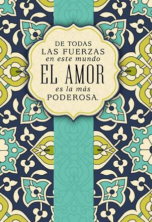 Power of Your Love Spanish-Language Our Anniversary Card