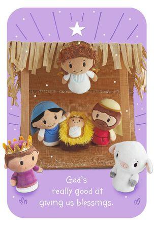 itty bittys® Nativity Christmas Card