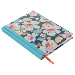 Navy Artful Floral Journal, , large